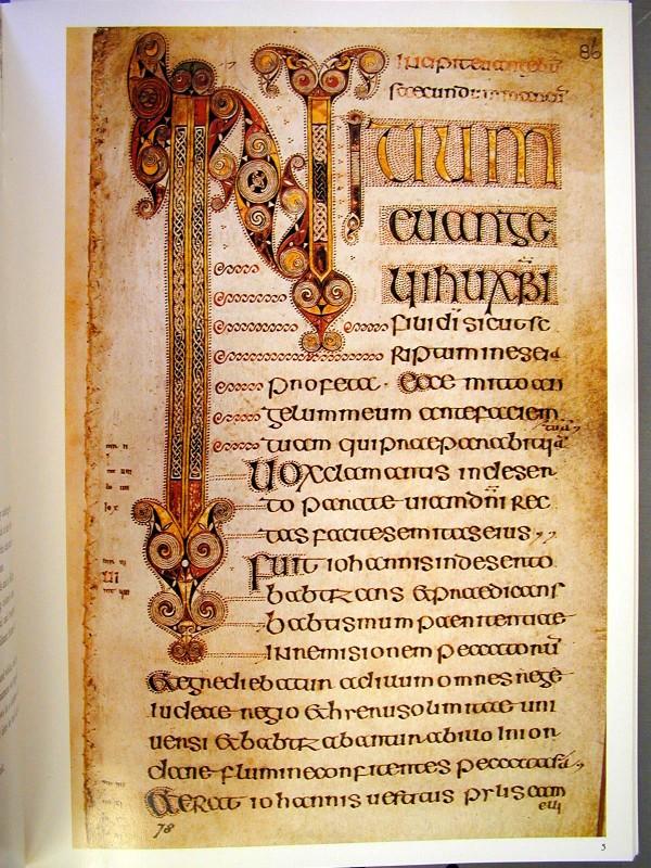 Beginning of Gospel of S Mark