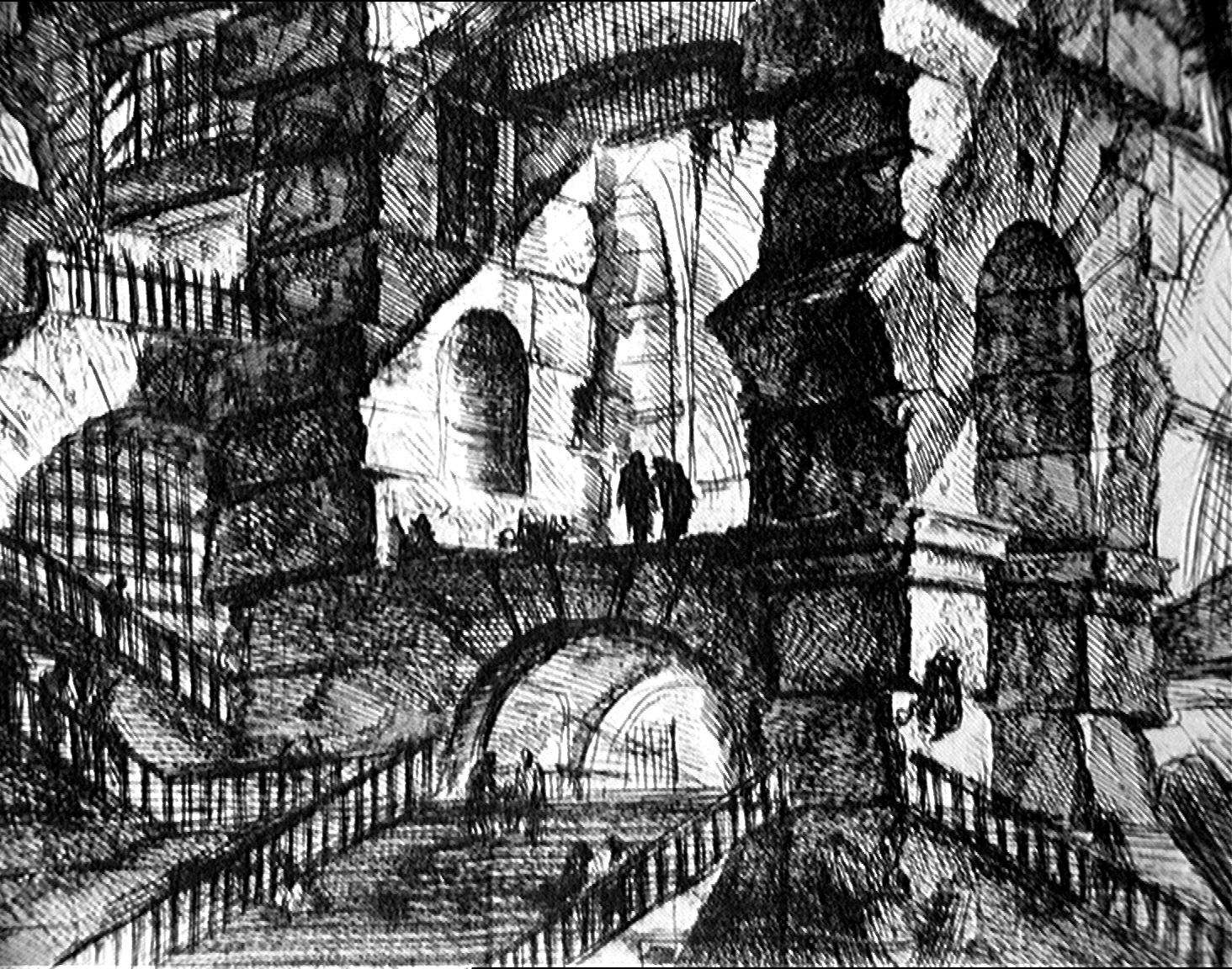 Image result for piranesi carceri
