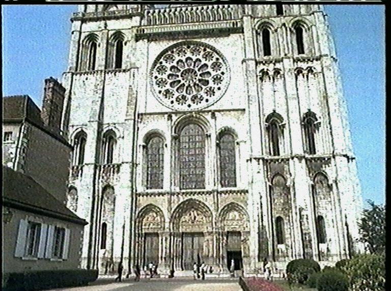 Chartres Cathedral West Facade Chartres West Facade