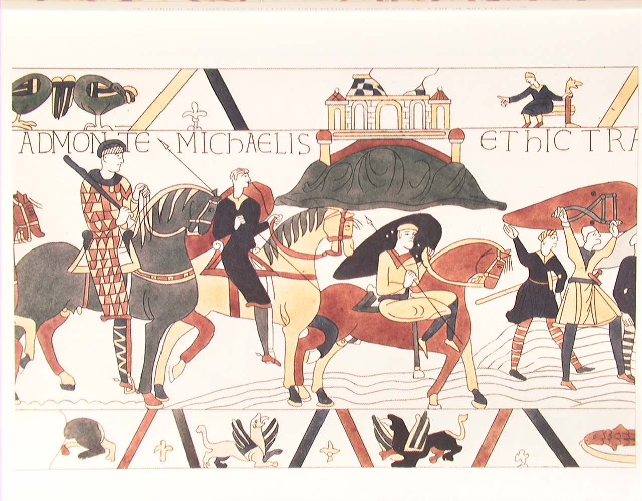 Make your own Bayeux Tapestry