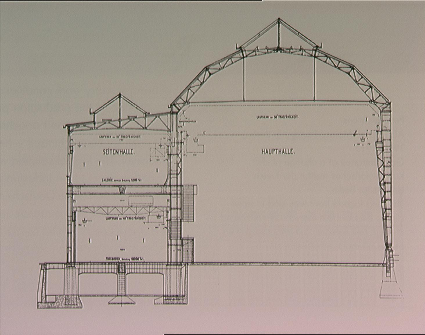 Behrens aeg turbine hall images for Peter behrens aeg turbine factory