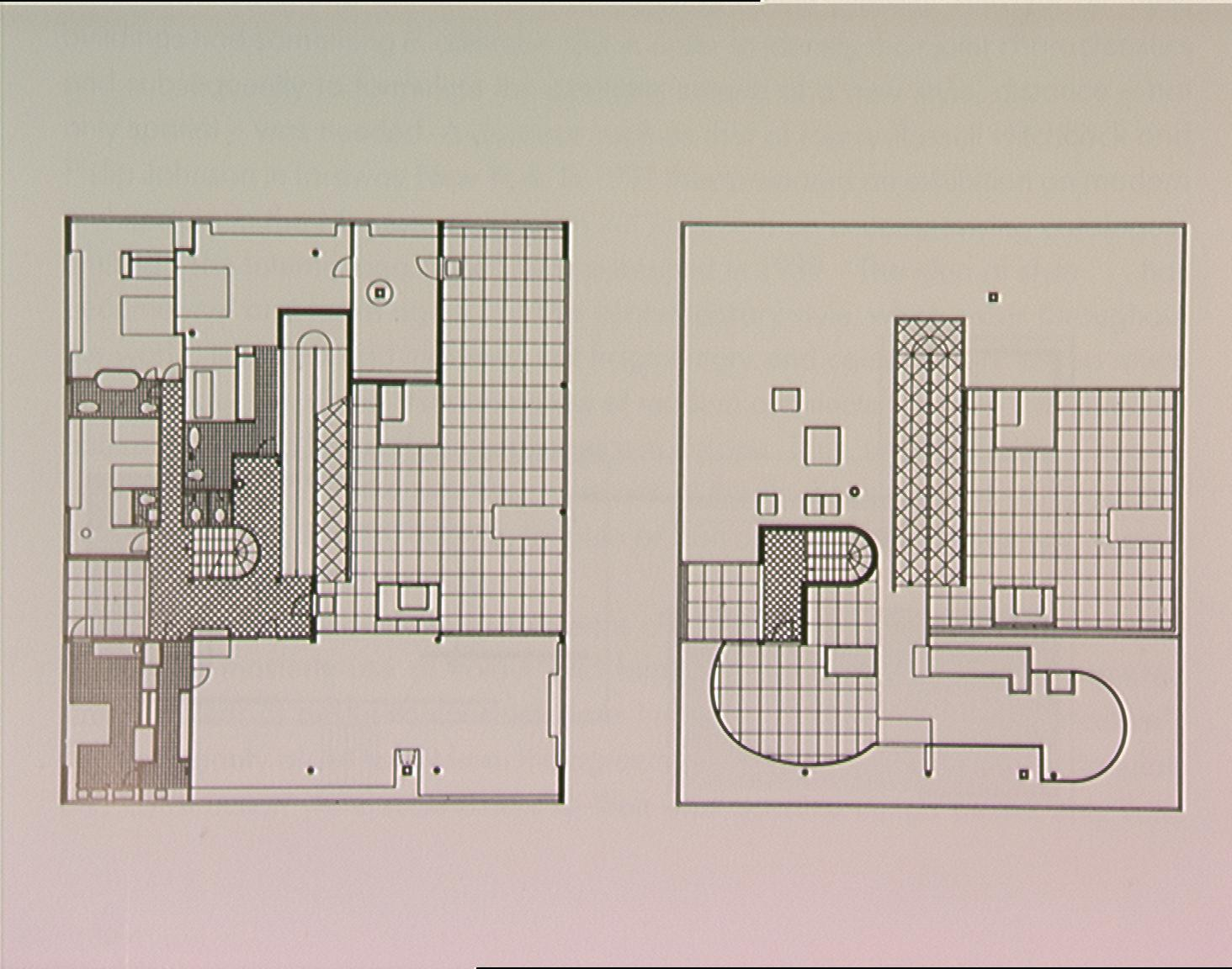 Displaying 20 gt  Images For - Villa Savoye Le Corbusier Floor Plan   Villa Savoye 2nd Floor Plan