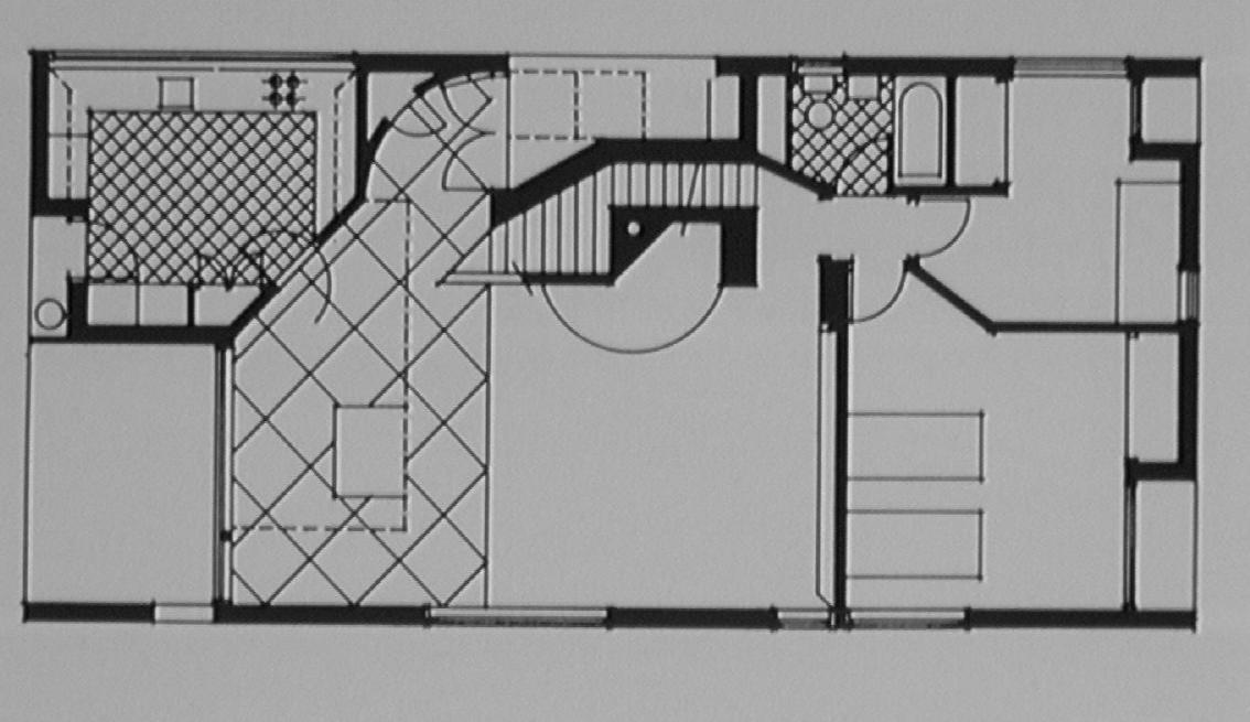 23517 Vanna Venturi House Plan Section Elevation on fisher house elevation, vanna venturi interior, kaufmann house elevation, eames house elevation, vanna venturi sections dimensions, tugendhat house elevation,