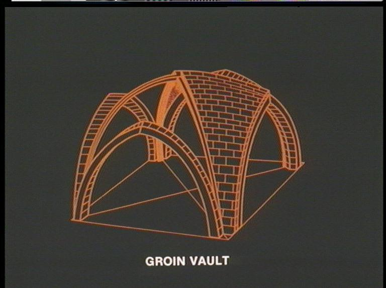 Italian Renaissance Architecture Barrel Vault Diagram