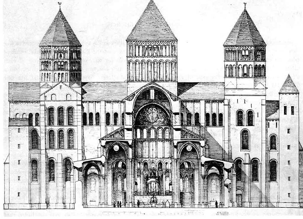 Des Racines Et Des Ailes - L`Abbaye De Cluny
