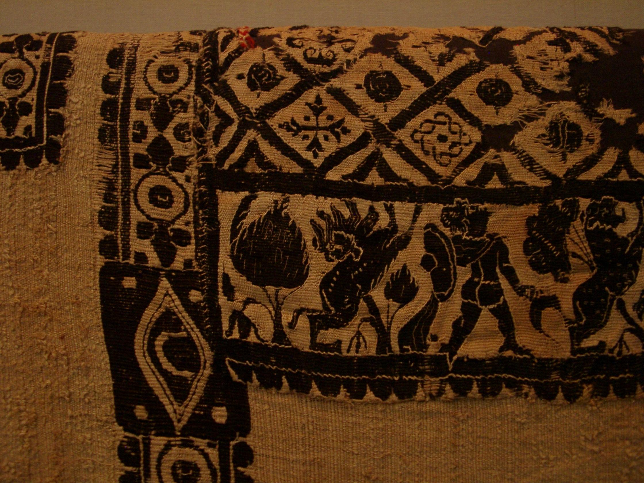 Coptic for Textile fabrics