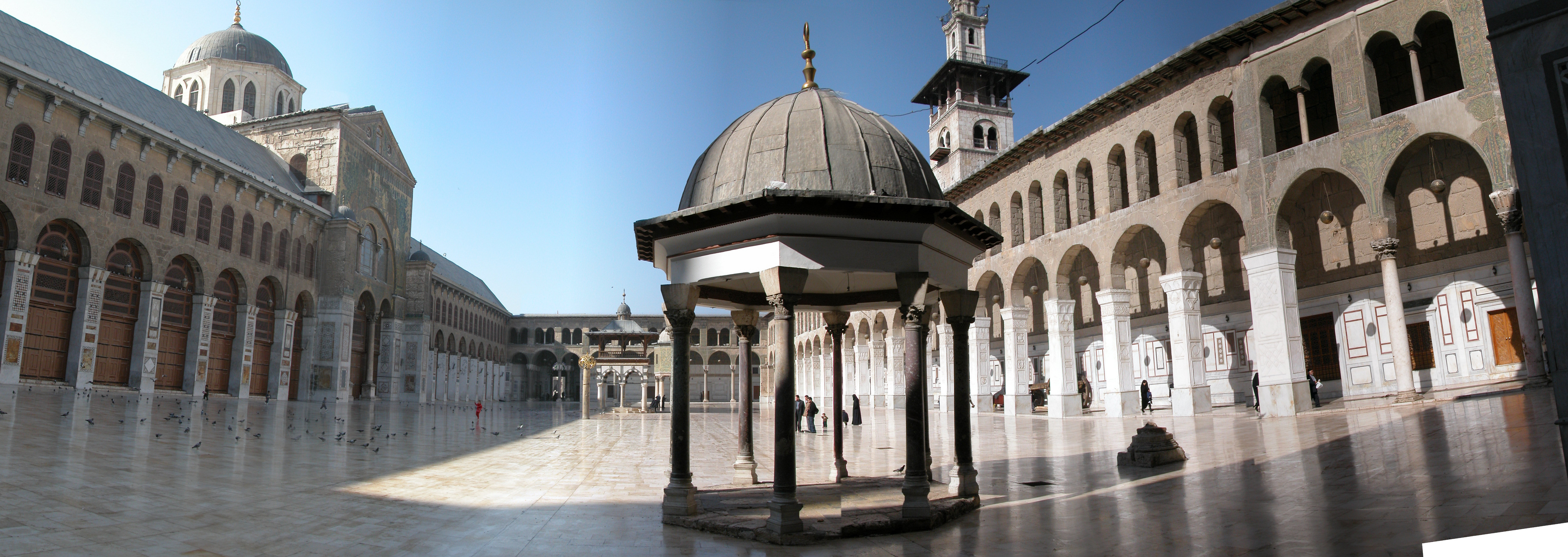the great mosque od domascus Fb flood umayyad survivals and mamluk revivals: qalawunid architecture and the great mosque of damascus in his seminal paper on the theme of copying in medieval.